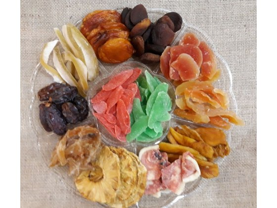 Family Round Dried Fruit Platter