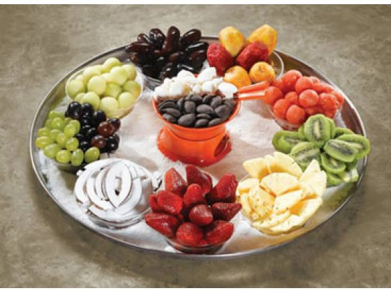 Buy Fondue Magic Fruit and Dip Gift Tray – Israel Delivery only   Israel-Catalog.com