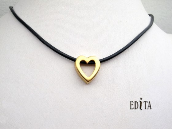 FREE Gold Heart Necklace by Edita