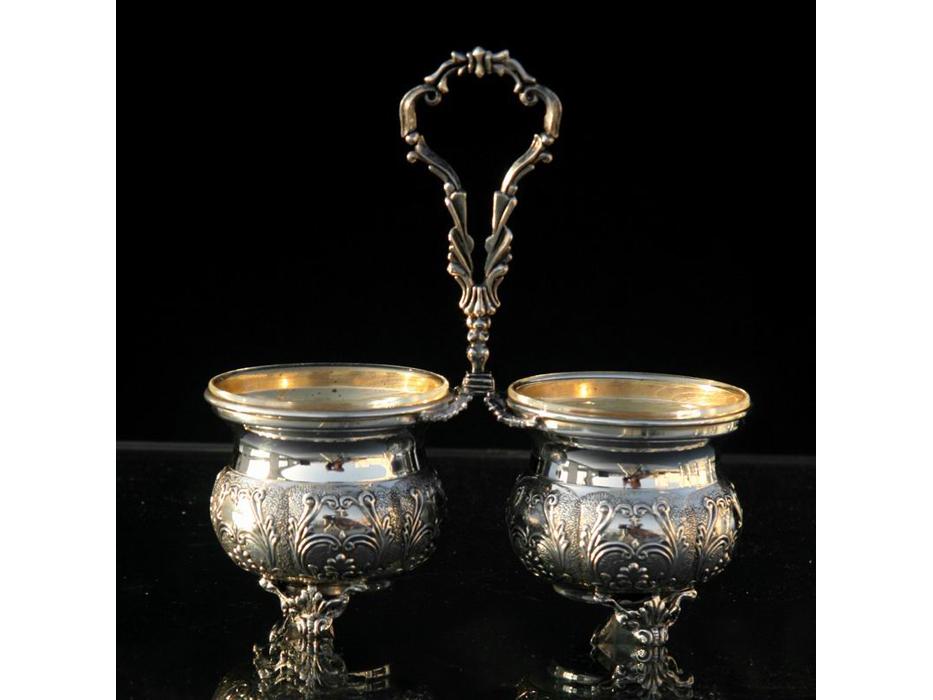 Hadad Sterling Silver Salt & Pepper Server - Toscana Floral Design