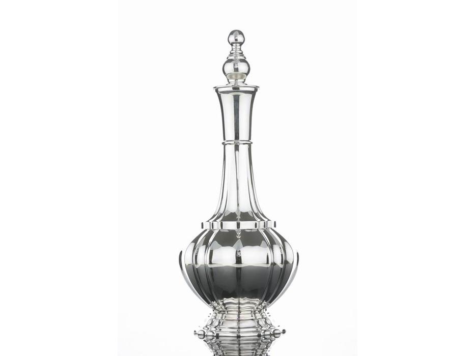 Hadad Sterling Silver Wine Decantor - Simply Elegant Design