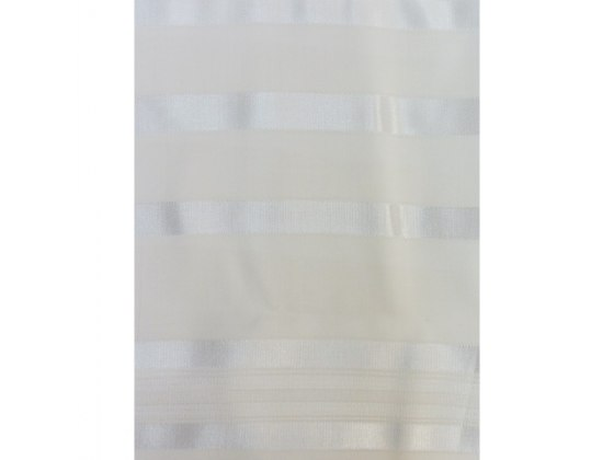 Pe'er Wool with White Stripes, Tallit