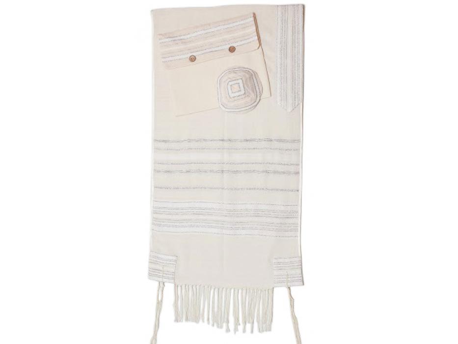 Handmade Crown Tallit, Prayer Shawl