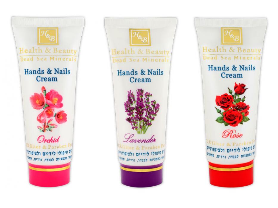 Hands and Nail Cream, Dead Sea Minerals