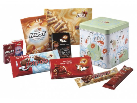 Happy Holiday [Chag Sameach] Gift Package - Kosher for Passover