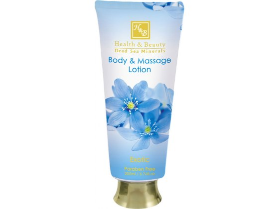 Health and Beauty Dead Sea Cosmetics Exotic Body and Massage Lotion