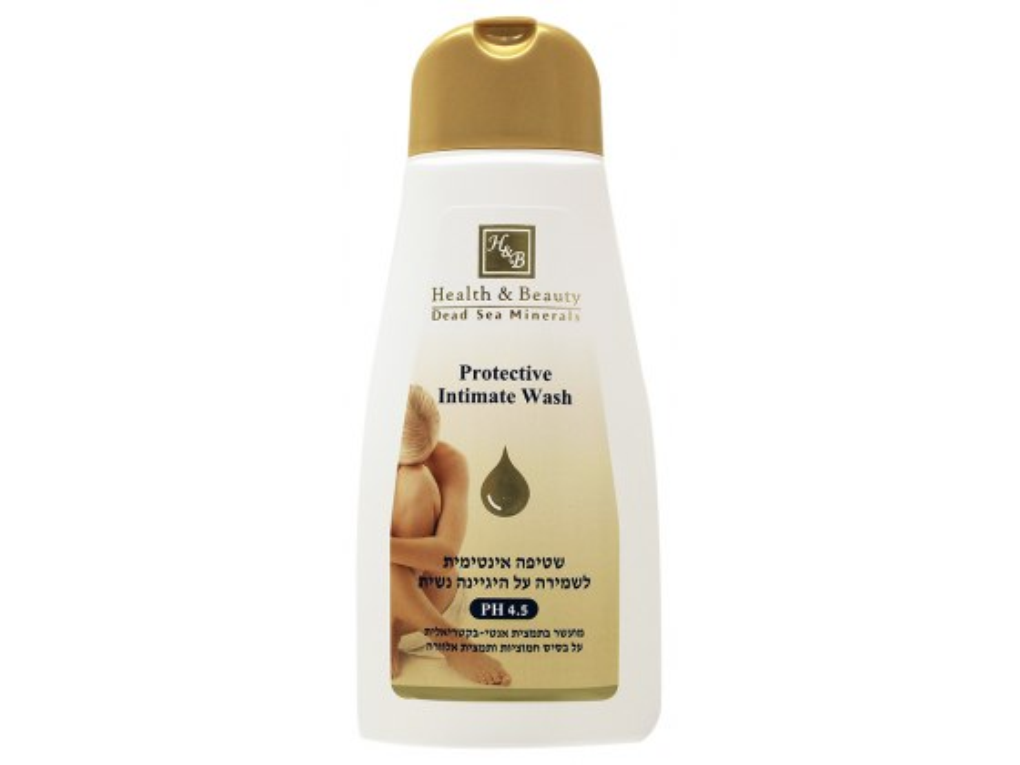 Health and Beauty Dead Sea Cosmetics Protective Intimate Wash