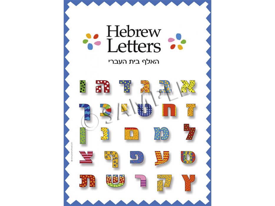 Httpwww Overlordsofchaos Comhtmlorigin Of The Word Jew Html: Buy Hebrew Alphabet Poster