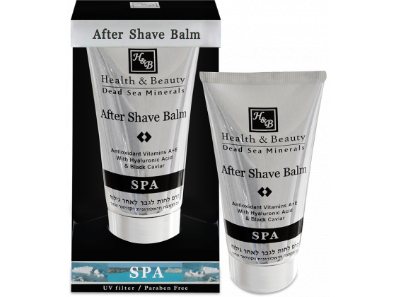 Hyaluronic After Shave Balm with Acid and Black Caviar