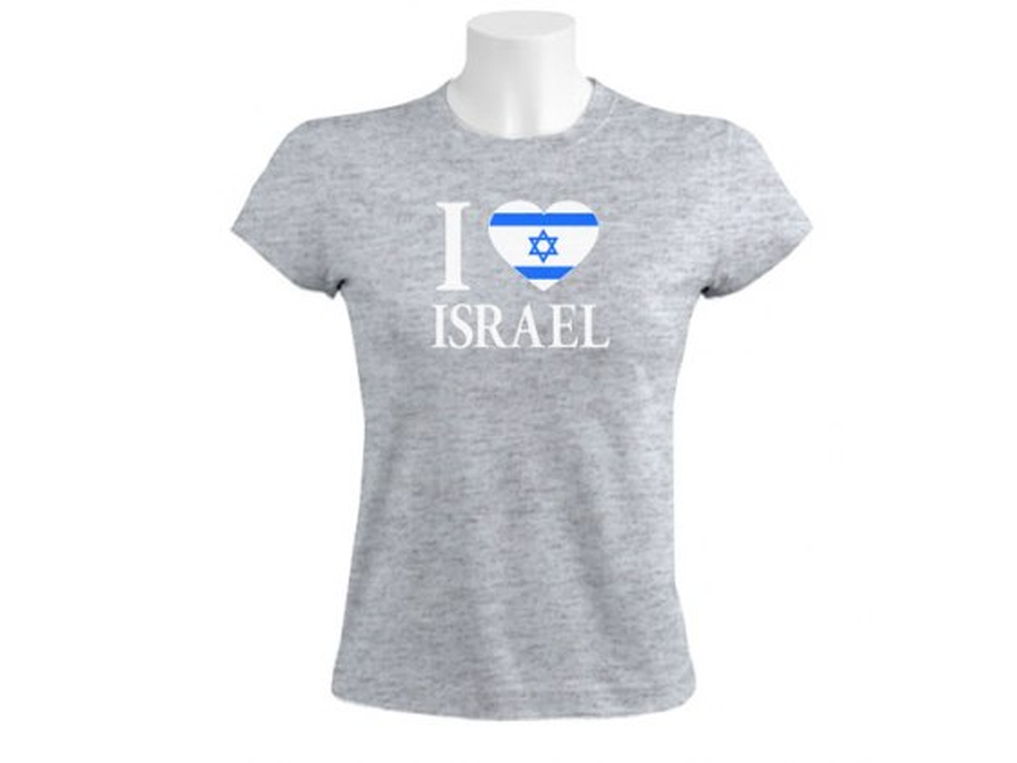 I [Heart] Love Israel - Women's Israel T-shirt
