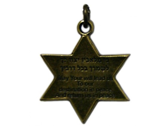IDF Insignia , Star of David Necklace