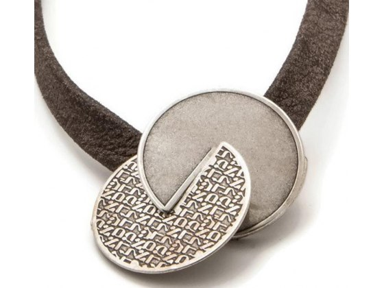 72 Names Of God Silver Kabbalah Necklace