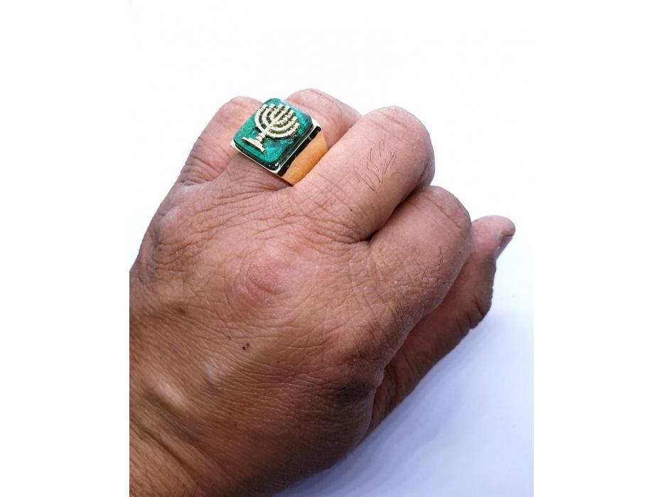 Clone of 14K Gold Jerusalem Lion Ring