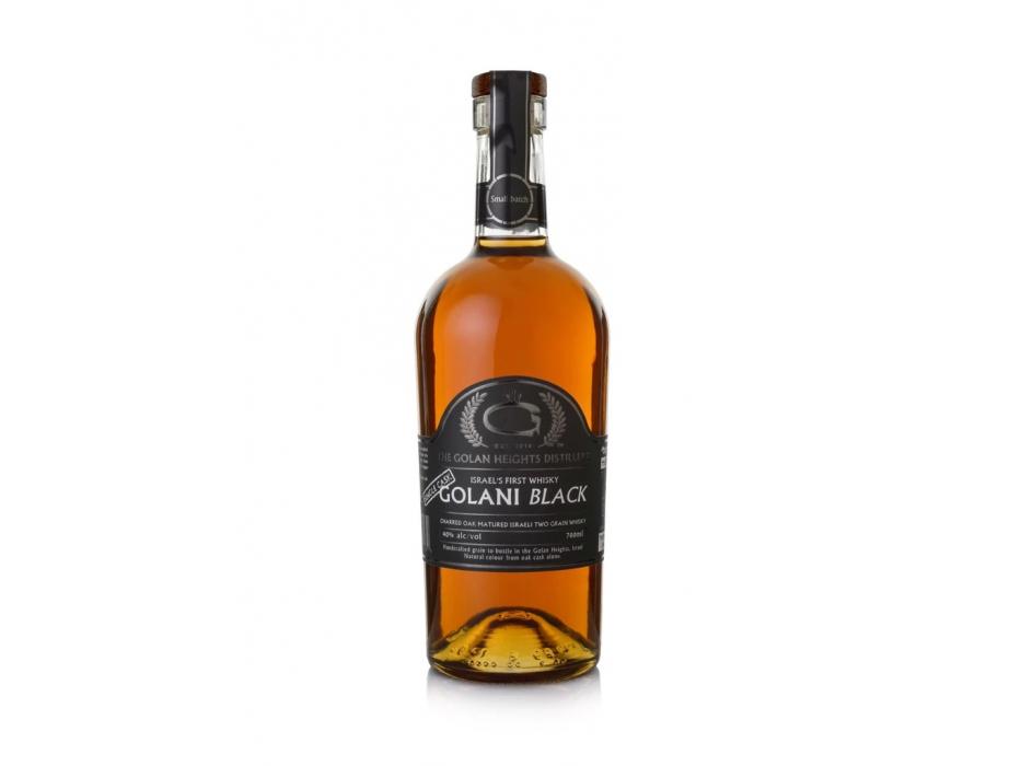 Golani Black Two Grain Charred Cask Israeli Whisky