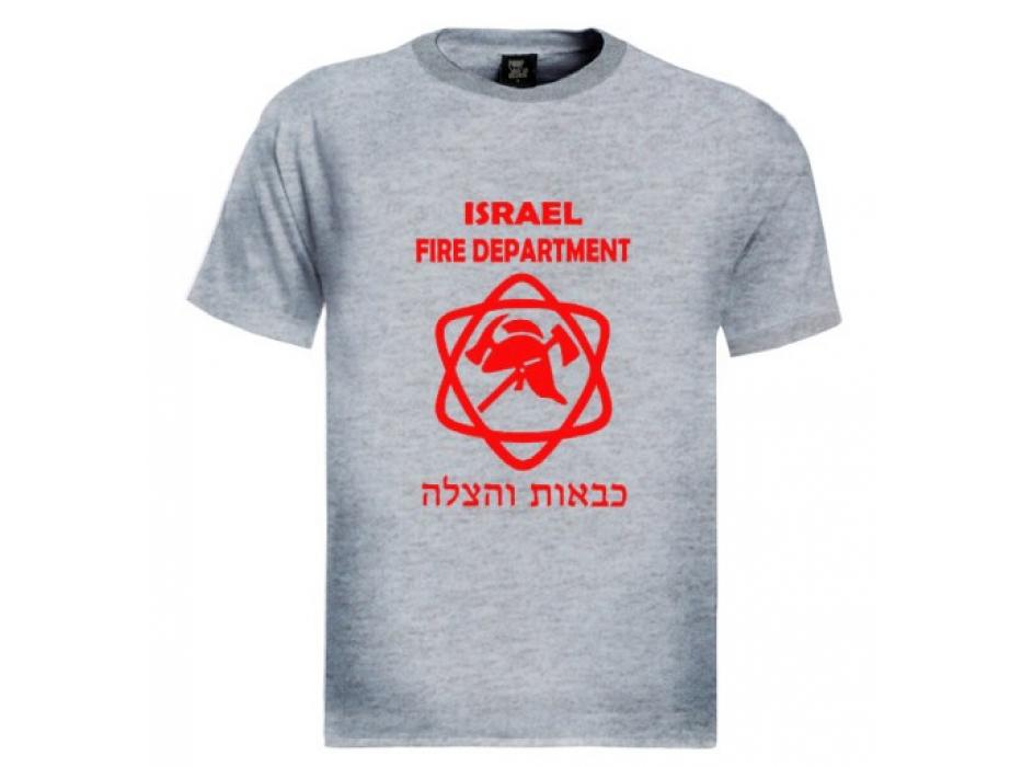Israel Firefighters T-Shirt (Men)
