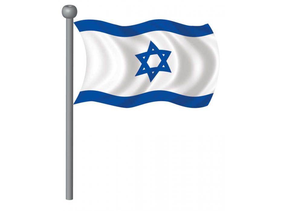 Israel Flag, Large