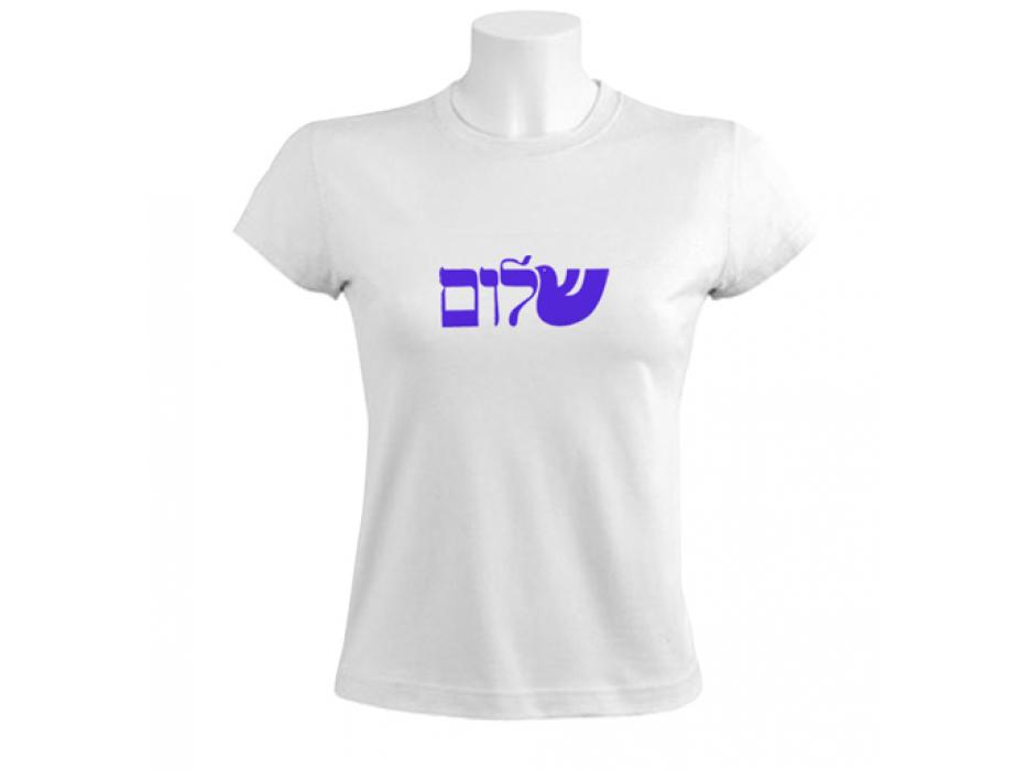 Israel T-Shirt - Shalom Dove (Women)