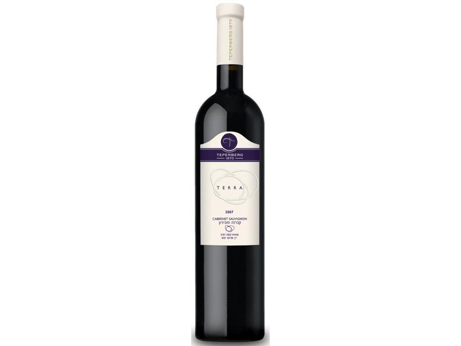 Israeli Boutique Wines - Teperberg 1870 Winery, Cabernet Sauvignon Terra 2007