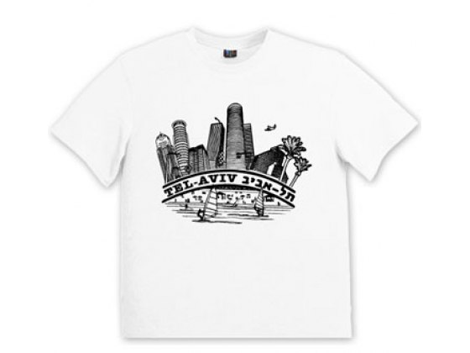 Israeli T Shirt Tel Aviv