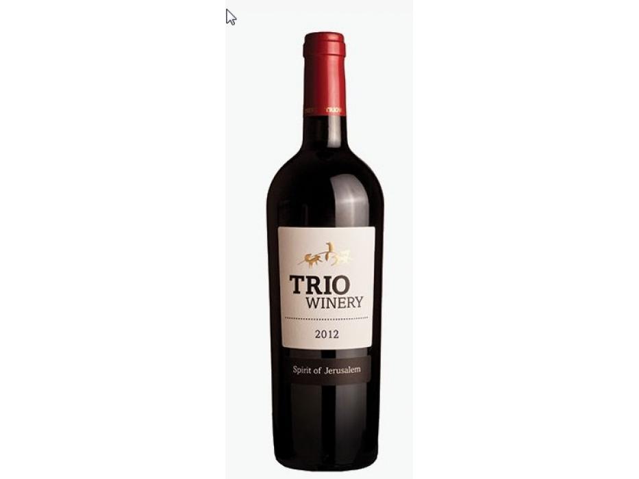 Israeli Winery Trio Spirit of Jerusalem
