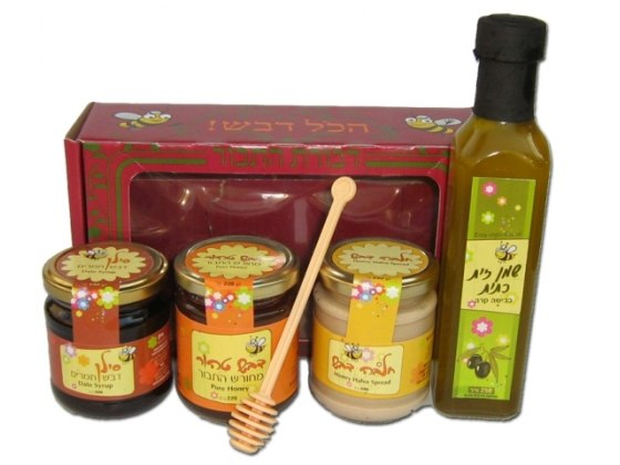 Israel's Finest Rosh Hashanah Honey Box