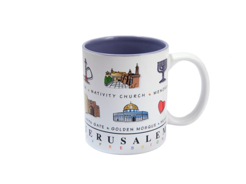 Jerusalem Expression Souvenir Mug
