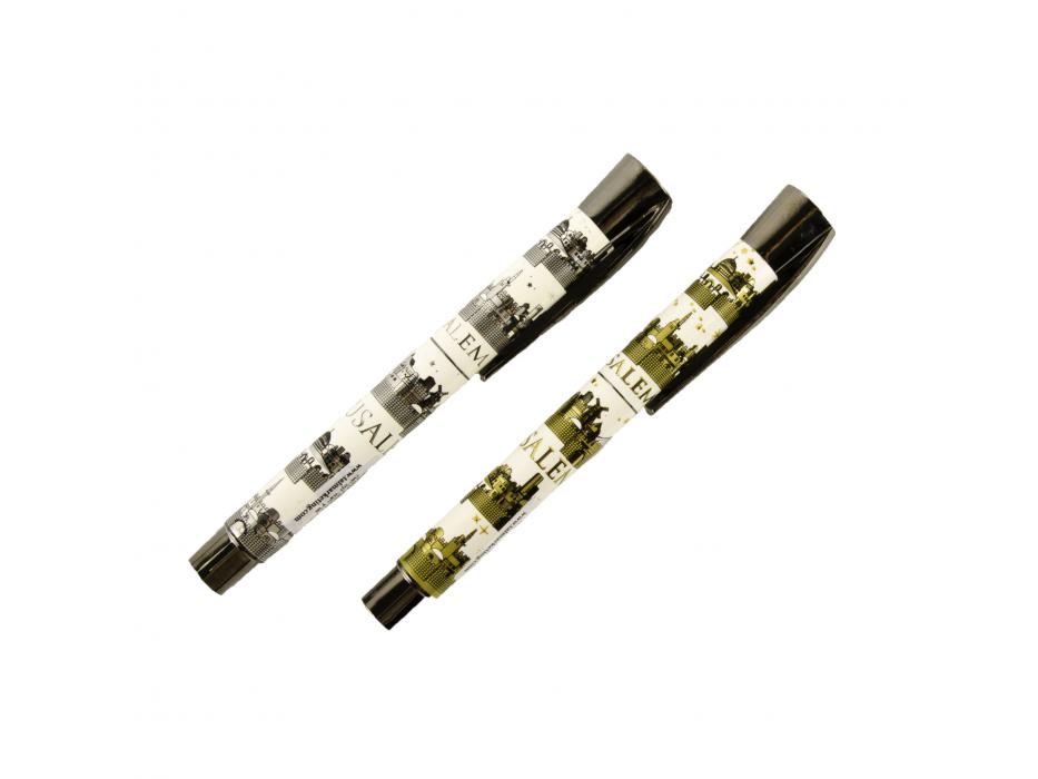 Jerusalem Gold and Silver Pen Set