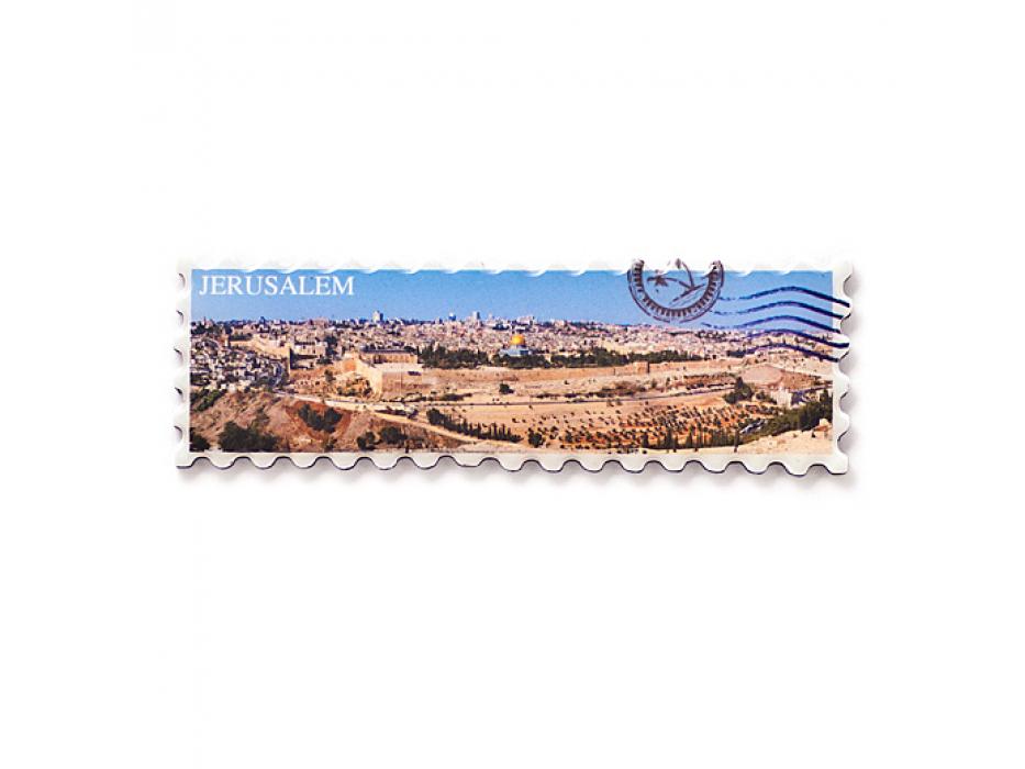 Jerusalem Panorama Fridge Magnet, Souvenirs Israel