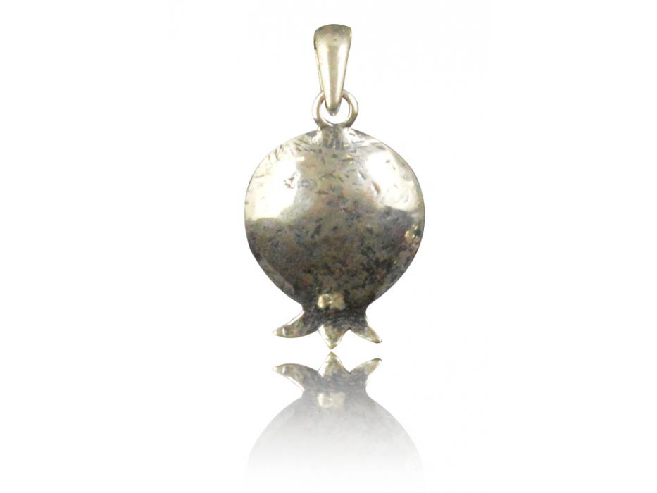 Jewish Jewelry Sterling Silver Pomegranate