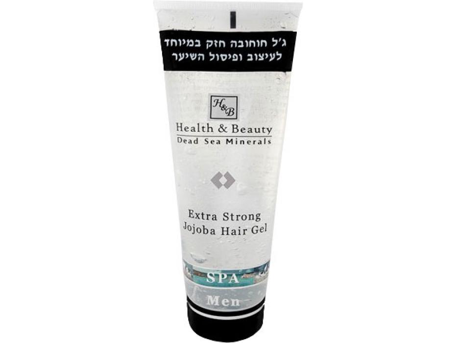 Jojoba Hair Gel for Men, Dead Sea Minerals