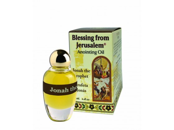 Blessing from Jerusalem Anointing Oil Jonah the Prophet (12 ml)