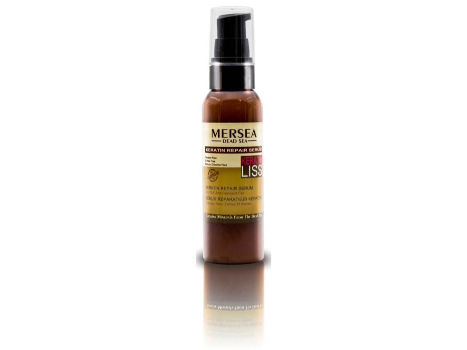 Keratin and Dead Sea Minerals Hair Repair Serum