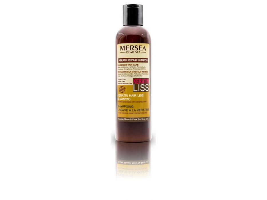 Keratin and Dead Sea Minerals Repair Hair Liss Shampoo