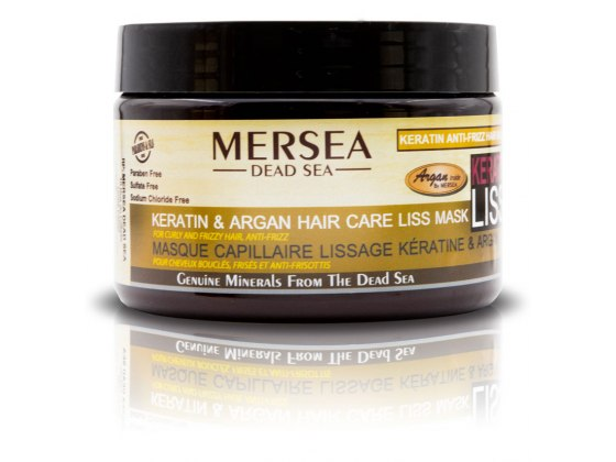 Keratin and Dead Sea Minerals Hair Liss Mask for Curly And Frizzy Hair