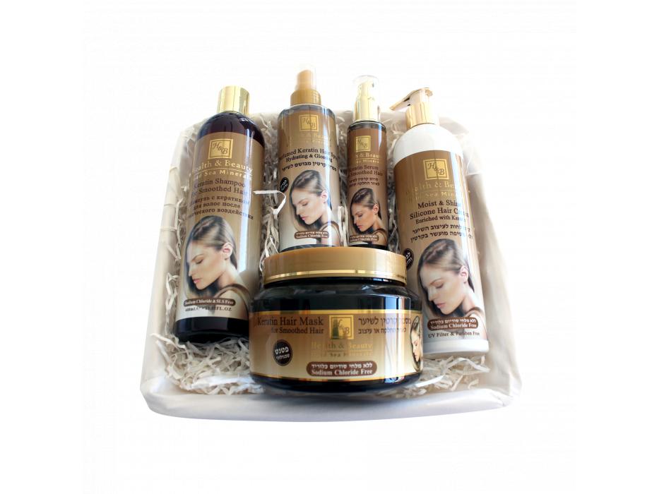 Keratin Hair Care Gift Set