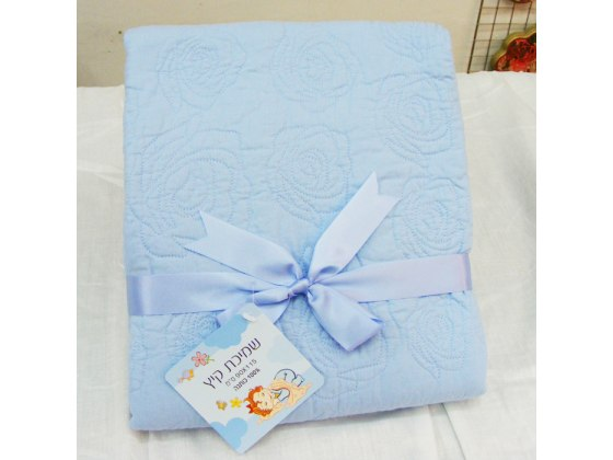 Large 100% cotton summer weight baby blanket by Pinat Eden