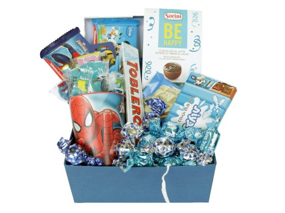 The large Spiderman Gift Basket