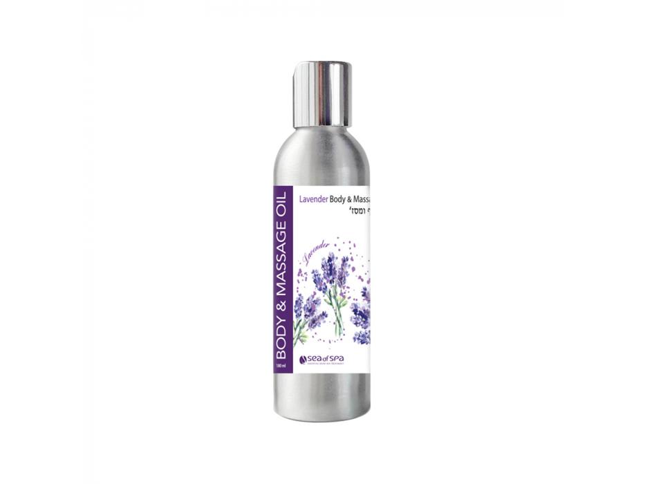 Lavender Body & Massage Oil by Sea of Spa