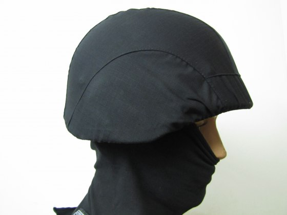 Lightweight Bullet Proof Army Steel helmet - Black