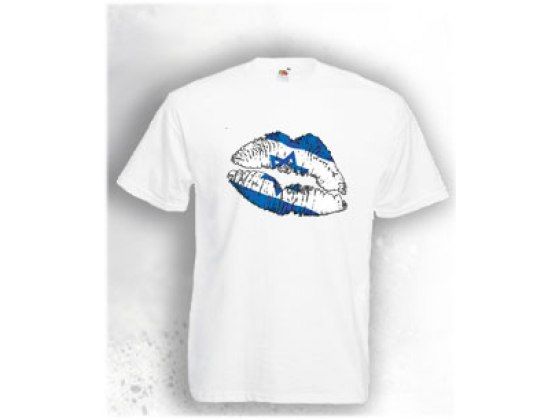 Love & Kiss from Israel T-Shirt