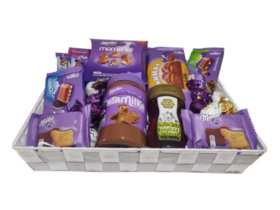 Purple Holiday Gift Basket