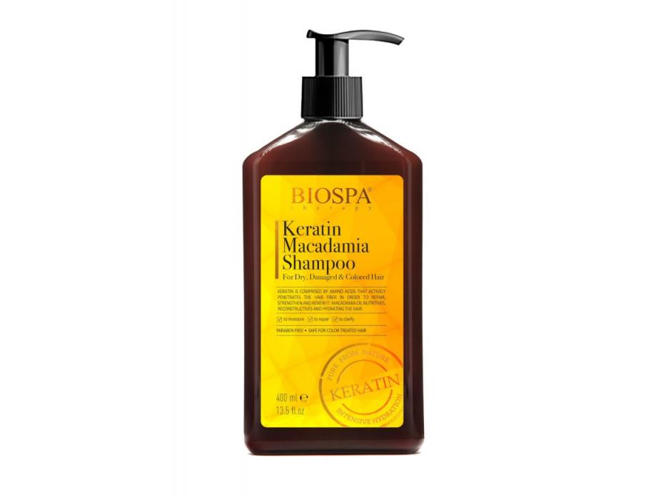 Keratin Macadamia Shampoo by Sea of Spa
