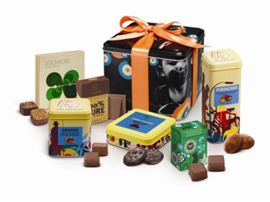 Max Brenner Kosher Gift Box of Chocolates #3 Kosher for Passover