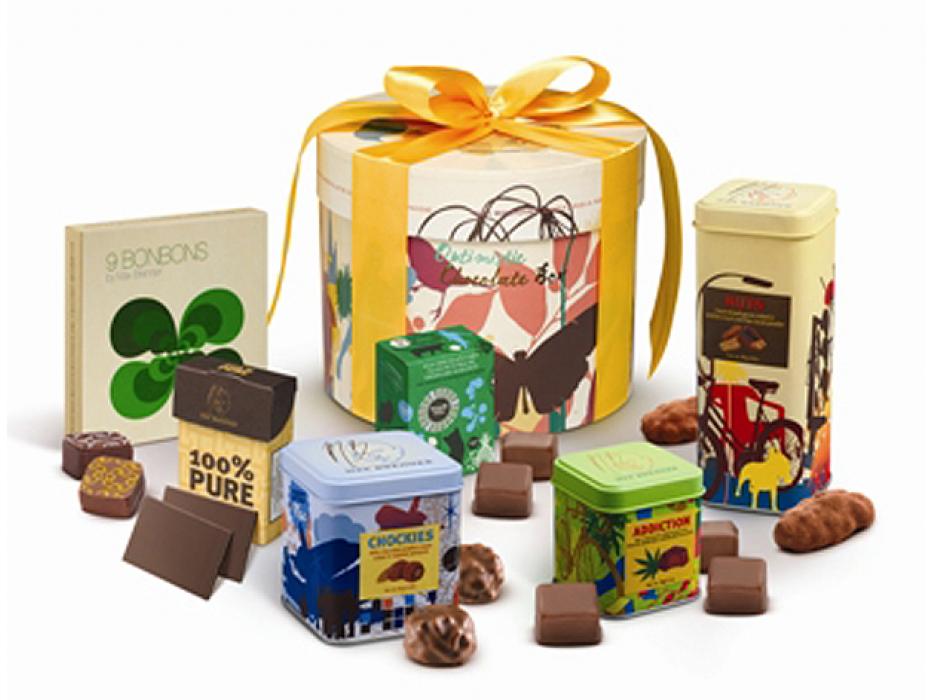 Max Brenner Kosher Gift Box of Chocolates #5 Kosher for Passover