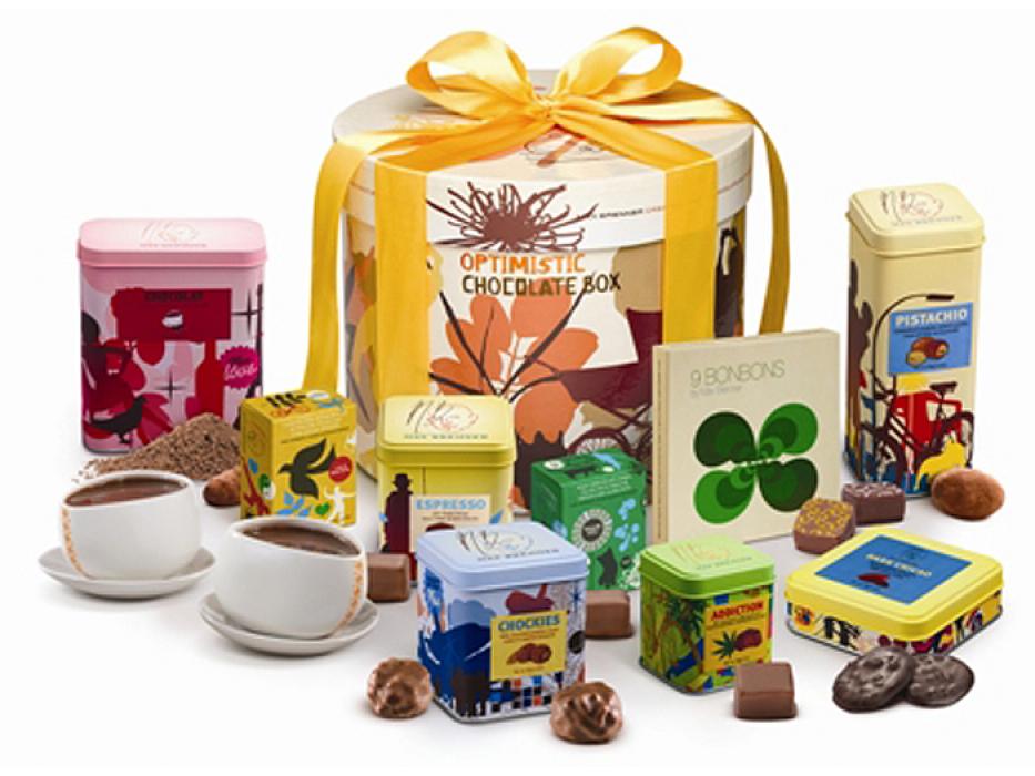 Max Brenner Kosher Gift Box of Chocolates #6 Kosher for Passover