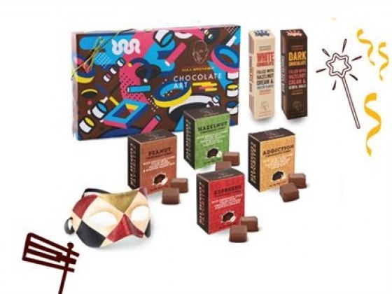 Max Brenner Large Purim Gift Box