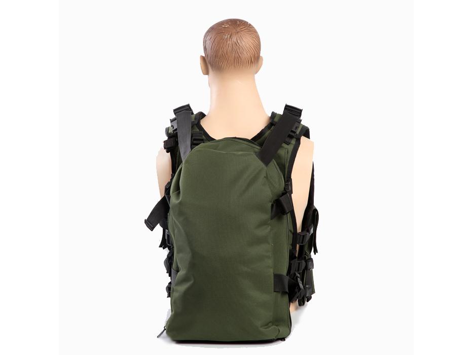 Medic Vest for Emergancy Medical Treatment - Back View
