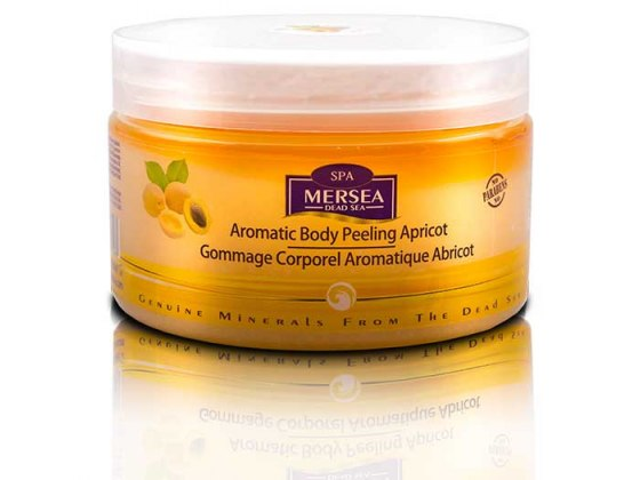 Mersea Dead Sea Aromatic Body Peeling Apricot