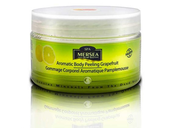 Mersea Dead Sea Aromatic Body Peeling Eucalyptus