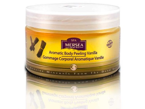Mersea Dead Sea Aromatic Body Peeling Vanilla